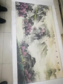 曾国龙:山水
