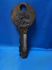 URUGUAY 乌拉圭铜钥匙带温度计