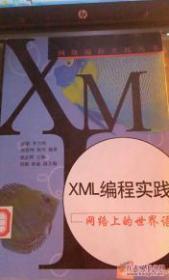 XML编程实践--网络上的世界语 邵敏 山东画报出版社