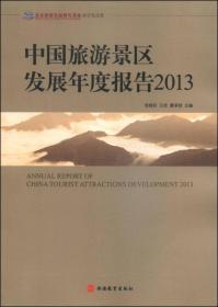 中国旅游景区发展年度报告2013【一版一印】