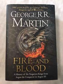 预售冰与火之歌坦格利安的历史 英版 Fire and Blood: 300 Years Before A Game of Thrones (A Targaryen History) (A Song of Ice and Fire)