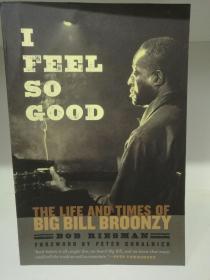 芝加哥大学版 I Feel So Good : The Life And Times Of Big Bill Broonzy by Bob Riesman(音乐)英文原版书