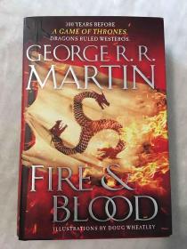 订购 冰与火之歌 坦格利安的历史 美版 Fire & Blood: 300 Years Before A Game of Thrones (A Targaryen History)