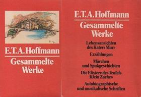 德文原版 德语 E. T. A. Hoffmann Gesammelte Werke in 5 Bänden E.T.A.霍夫曼 全集 全套5卷 精装硬皮