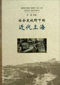 社会史视野下的近代上海