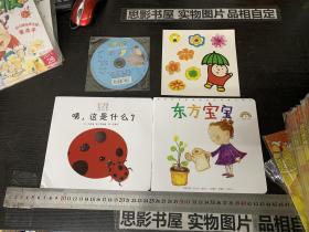 东方宝宝绘画版 2010.6【两册全 未开封】内有贴画和光盘