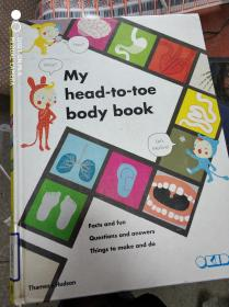 特价现货~My Head-to-Toe Body Book