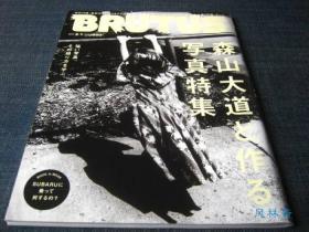 BRUTUS绝版特刊 森山大道写真特集 蜷川実花文章 日本当代摄影艺术之代表