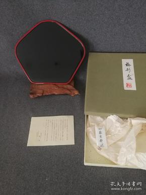 日本 加賀涂  加藤宗靜樣 能作 梅形盆