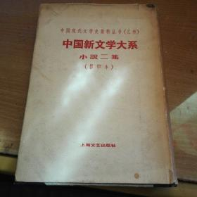 中国现代文学史资料丛书(乙种)《中国新文学大系小说二集》<影印本>