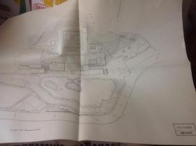 日本有名庭园实测图纸 1-3号  円城寺,円城寺光净院,円德院 三张图纸