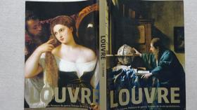 LOUVER 卢浮宫展 16-19世纪风俗画 油画 日文原版画册