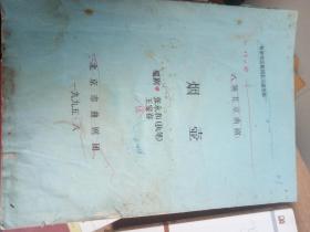 八场北京曲剧 烟壶 著名剧作家张永和手稿修改