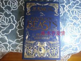 神奇的动物在哪里 英版Fantastic Beasts and Where to Find Them: The Original Screenplay