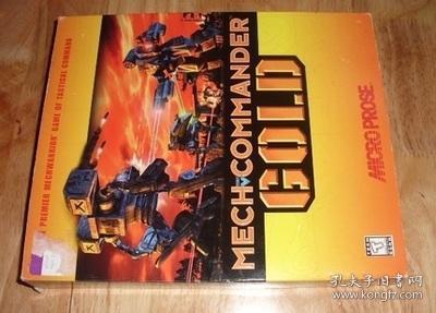 机甲指挥官 金版 美国原版 大盒装 国内现货 爆战机甲兵 战士装甲 电脑游戏