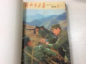 解放军画报社 1973年 1-12期 缺第4期,第8期 共10期合售
