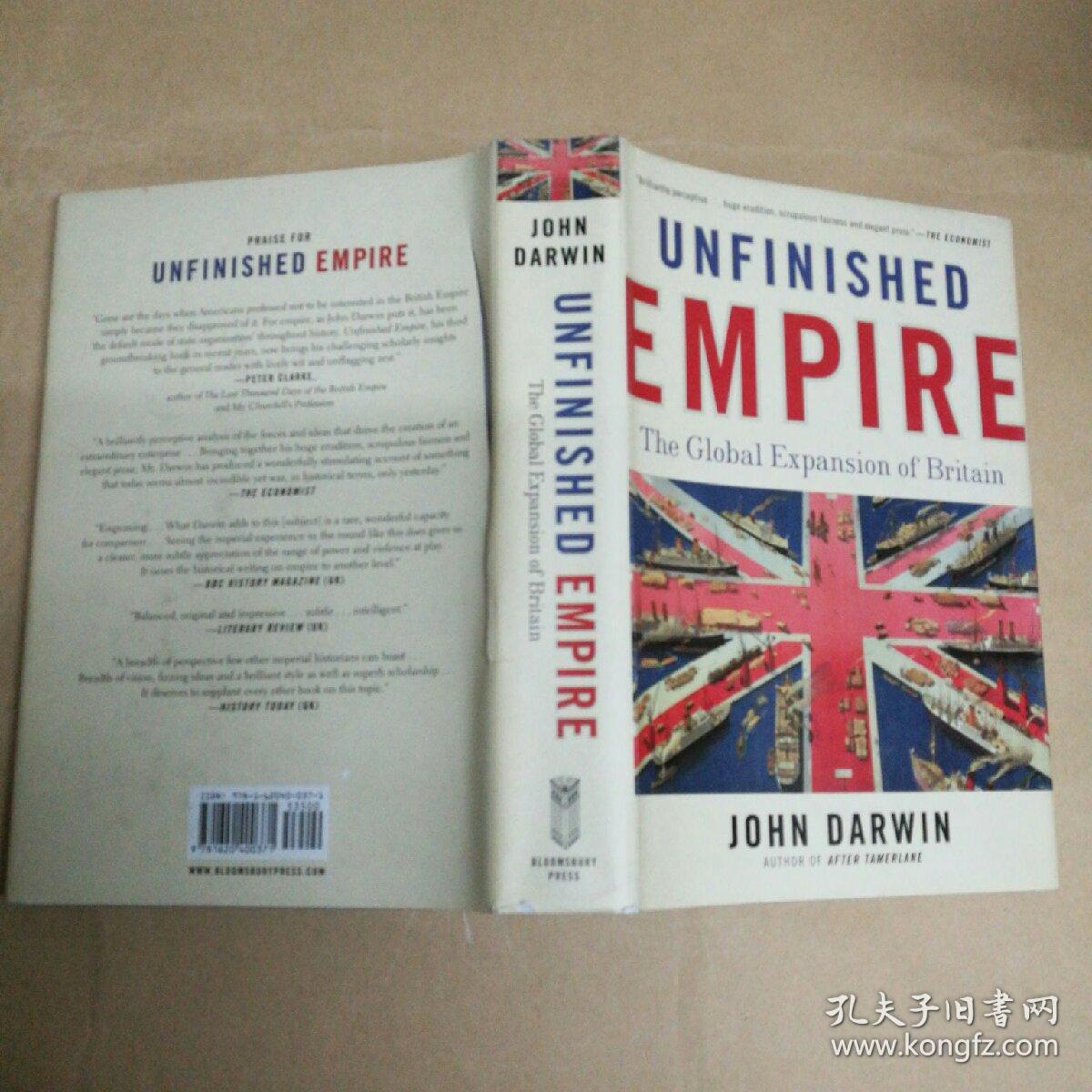 Unfinished Empire: The Global Expansion of Britain(精装毛边)未完成的帝国:英国的全球扩张