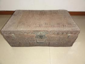 老棕箱(汉中棕编箱子)箱子上有汉中纪念字样 200包快递发货