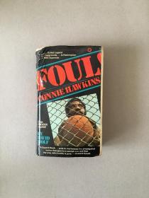 Foul!Connie Hawkins Story 精装英文原版 揭秘NBA早期赌球活动的重要文献