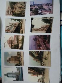 九十年代初期彩色济南街道建筑照片(10张合售)