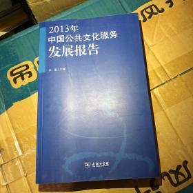 2013年中国公共文化服务发展报告