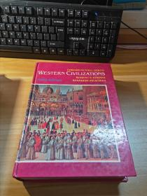 16开原版精装本《WESTERN CIVILIZATIONS THEIR HISTORY AND THEIR CULTURE》西方文明史(附大量精美图片)