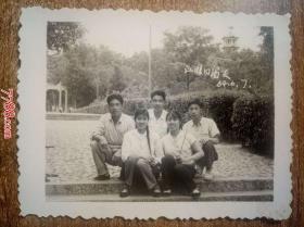 老照片:1964年江淮同窗友