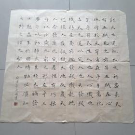 张永国书法