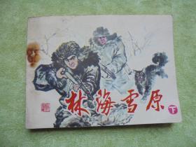 林海雪原 (下)【连环画】