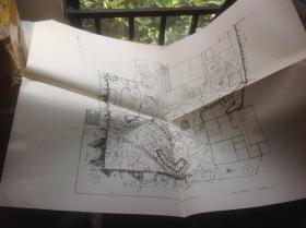 日本有名庭园实测图纸 第二组 4-5号  表千家不审庵露地 + 桂离宫  共两张图纸