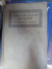 1913年《AN ADVANCED ENGLISH GRAMMAR 车厢一