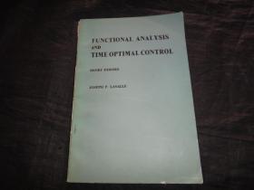 英文版:FUNCTIONAL ANALYSIS AND TIMEOPTIMAL CONTROL 泛函分析和时间最优控制