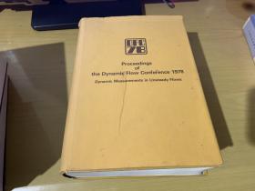 程序的动态流会议1978年动态测量不稳定流动-proceedings of the dynamic flow confere.