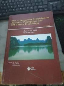 2006 7th International Symposium on Antennas,Propagation and EM Theory Proceedings