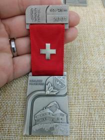 徽章 奖章 纪念章 瑞士 射击比赛 2001