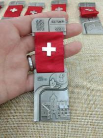 徽章 奖章 纪念章 瑞士 射击比赛 1994