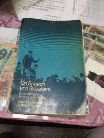 on speech andspeakers