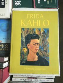 英文原版精装艺术画册:FRIDA KAHLO(弗里达.卡罗)8开精装画册