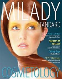 英文原版书 Milady Standard Cosmetology - Hardcover 12th edition 2012 by Milady (Author)