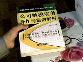 公司纳税实务操作与案例解析(修订第三版)