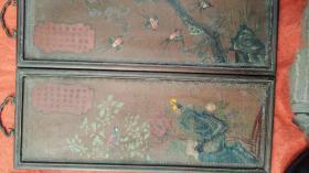 木雕喜鹊枝头梅花翘