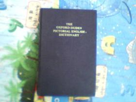 The Oxford-Duden Pictorial English Dictionary《牛津——杜登英语图解词典》【英文】