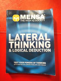 Mensa lateral thinking and logical deduction 门萨横向思维和逻辑推理