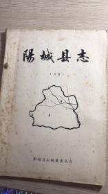 阳城县志初稿