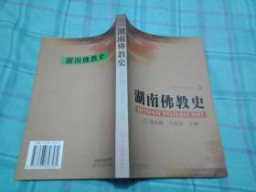 湖南佛教史(2002年1版1印)   书9品如图