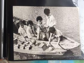 五六十年代原版老照片 儿童模型队 (早期摄影记者拍摄)