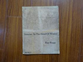 Sunrise,In The Dead Of Winter Ray Repp