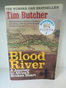 Blood River:A Journey to Africas Broken Heart by Tim Butcher(旅行/非洲)英文原版书