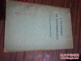 昆虫学语汇英文版 156