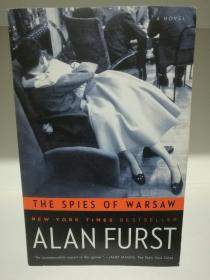 阿兰•福斯特 The Spies of Warsaw by Alan Furst (间谍小说)英文原版书